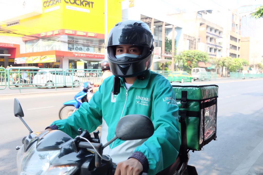 LINE MAN ย้ำภาพความปลอดภัย เตรียมช่วยร้านค้าในพื้นที่ล็อกดาวน์