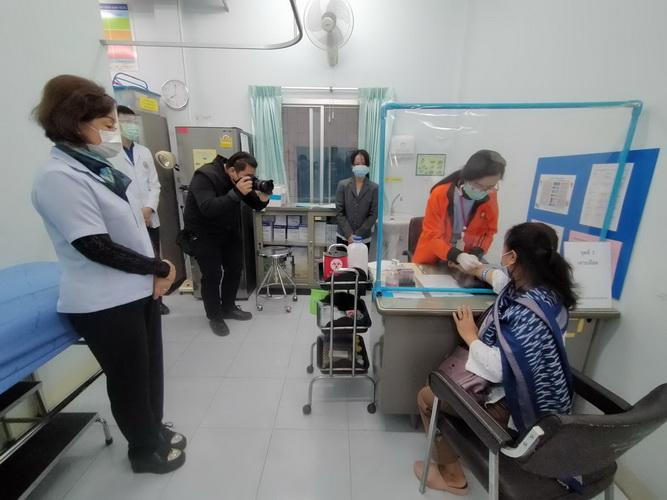คือดีแท้!รพ.อุดรฯเปิดบริการเจาะเลือด@ศูนย์แพทย์ใกล้บ้าน ลดปัญหาแออัด/ลดเสี่ยงแพร่เชื้อโรค