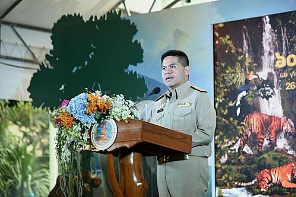 26 ธันวาคม วันคุ้มครองสัตว์ป่า 'วราวุธ' เดินหน้าแผนการอนุรักษ์สัตว์ป่าไทย 20 ปี