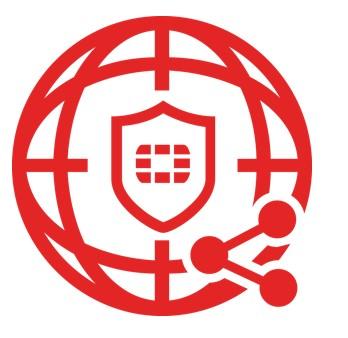 สัญลักษณ์ทีมข่าวกรองและการวิจัยภัยคุกคามทั่วโลก ฟอร์ติการ์ดแล็บส์
