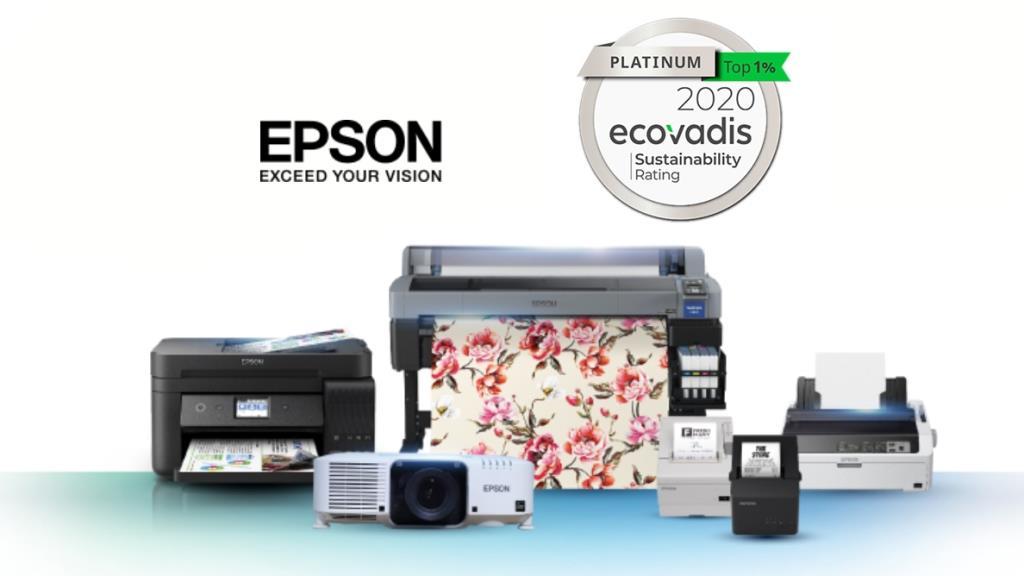 เอปสัน ได้รับเลือกเป็นองค์กรรับผิดชอบต่อสังคมและสิ่งแวดล้อมขั้นสูงสุดจาก EcoVadis