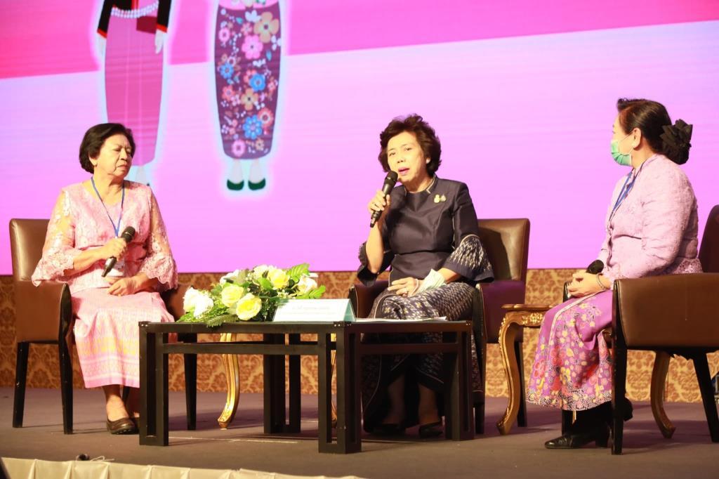 ประธานสภาสตรีแห่งชาติฯ ปลุกพลังสตรี สร้างมูลค่าเพิ่มกองทุนพัฒนาบทบาทสตรีให้เข้มแข็ง