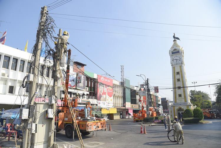 MEA จับมือเทศบาลนครนนทบุรีเร่งนำสายไฟฟ้าลงดินรอบศาลากลางเก่าเมืองนนท์