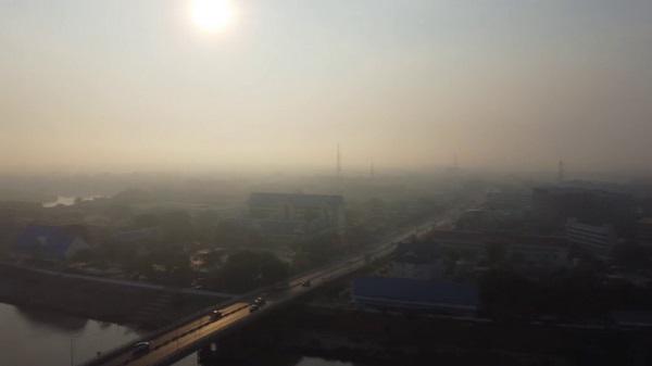 เตือน!!  วันนี้ PM 2.5 อ่างทอง เกินค่ามาตรฐาน ผู้ว่าฯเตือน ปชช.หลีกเลี่ยงทำกิจกรรมพื้นที่แจ้ง