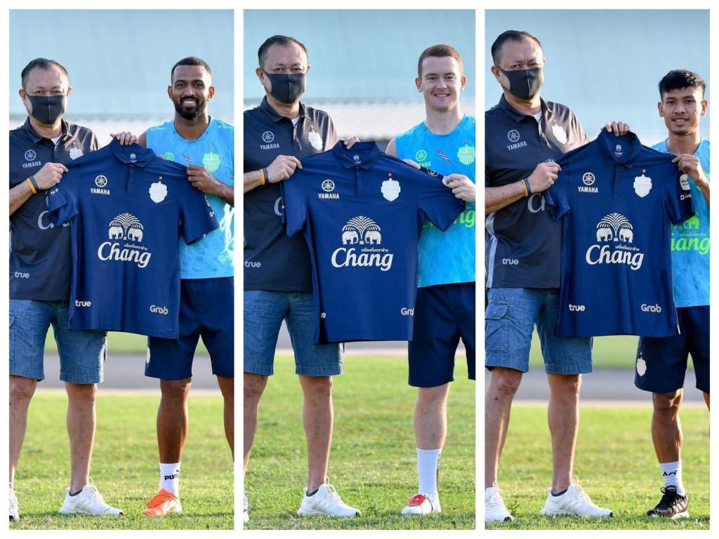 """""""บุรีรัมย์"""" จัดหนัก เปิดตัว 3 แข้งต่างชาติ ช่วยทีมบู๊เลกสองไทยลีก"""