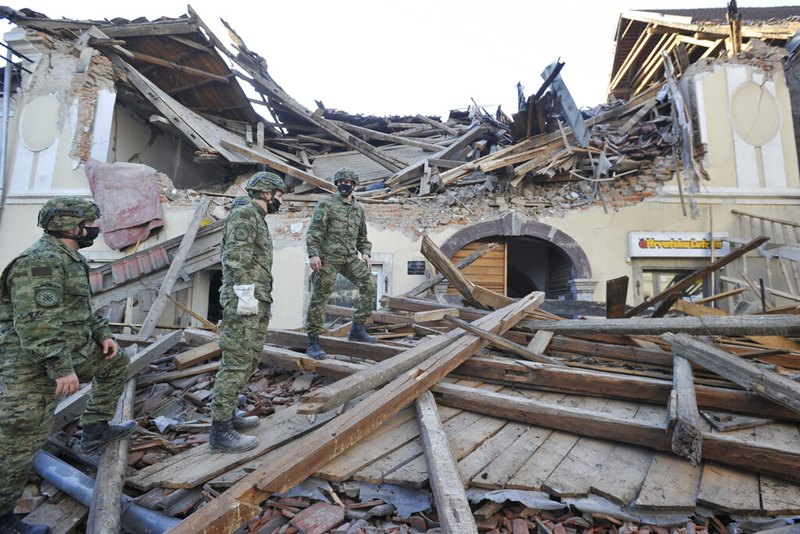 สยอง!! แผ่นดินไหวรุนแรงถล่ม 'โครเอเชีย' ตายอย่างน้อย 5 เจ็บ 20