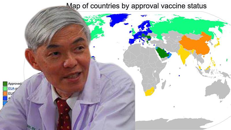 """""""หมอยง"""" ลั่นโควิดรอบนี้หนักกว่าที่คิด จี้รัฐเร่งซื้อวัคซีนอย่ายึดติดแค่ของบริษัทเดียว หนุนเอกชนช่วยนำเข้า"""
