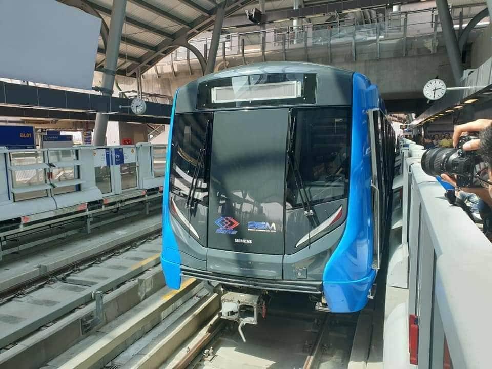 วันส่งท้ายปี รถไฟฟ้า MRT วิ่ง บริการตามปกติ ถึงเที่ยงคืน