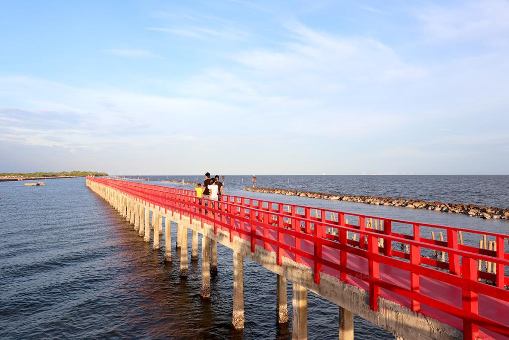 สะพานแดง จ.สมุทรสาคร
