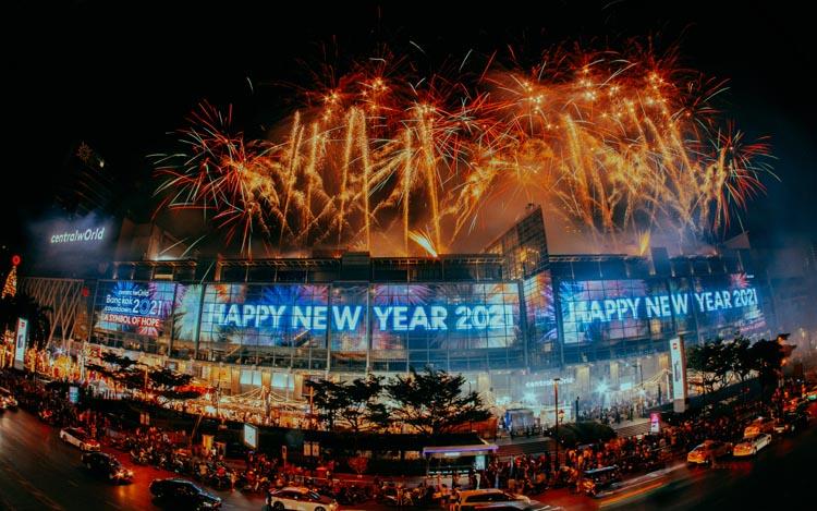 """เซ็นทรัลเวิลด์ ฉลองเคาท์ดาวน์ระดับโลก """"centralwOrld bangkOk cOuntdOwn 2021"""" พร้อมโชว์พลุสุดตระการตา 'A Symbol of Hope'"""
