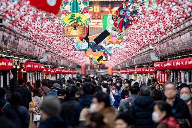 ปีใหม่ที่ญี่ปุ่น กลางมรสุมโควิด (ชมภาพชุด)