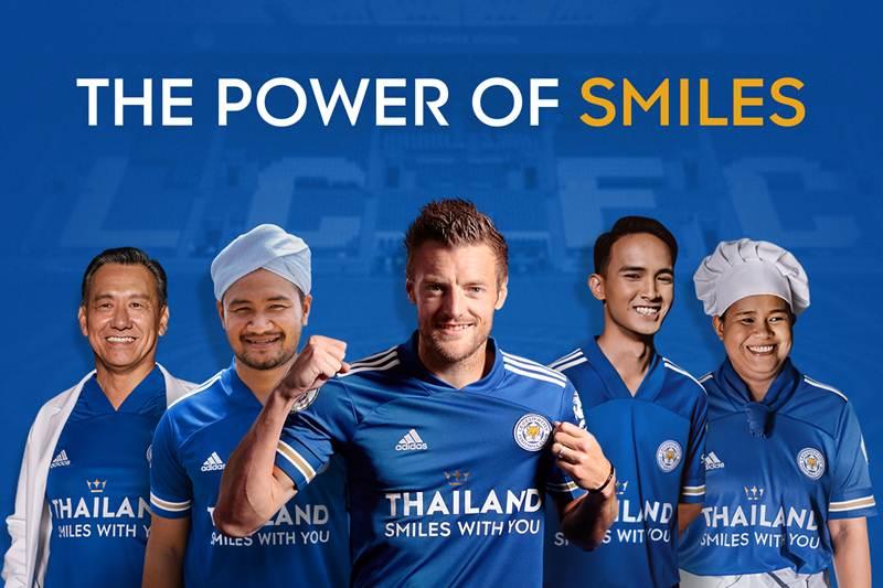 Thailand Smiles With You คิง เพาเวอร์จับมือเลสเตอร์ซิตี้ ส่งยิ้มสยามสร้างกำลังใจไปทั่วโลก