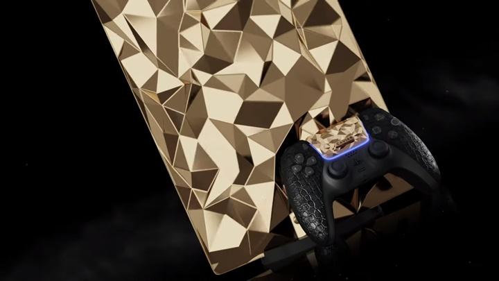 เว่อร์ได้อีก! รัสเซียเตรียมขาย  PS5 รุ่นทอง 18K  พร้อมหนังจระเข้
