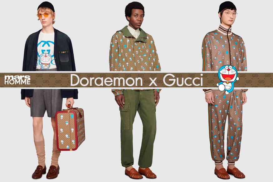 Doraemon x Gucci การโคจรล่าสุดของแบรนด์