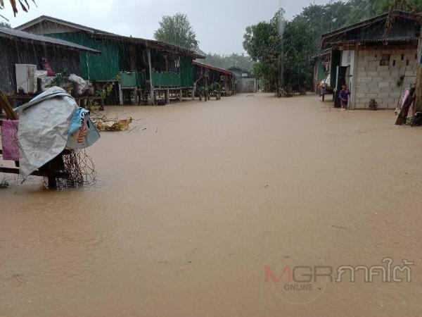 ผวจ.ปัตตานีเตือน ปชช.ในเขตพื้นที่เสี่ยงน้ำท่วมซ้ำซาก ติดตามสถานการณ์น้ำอย่างใกล้ชิด