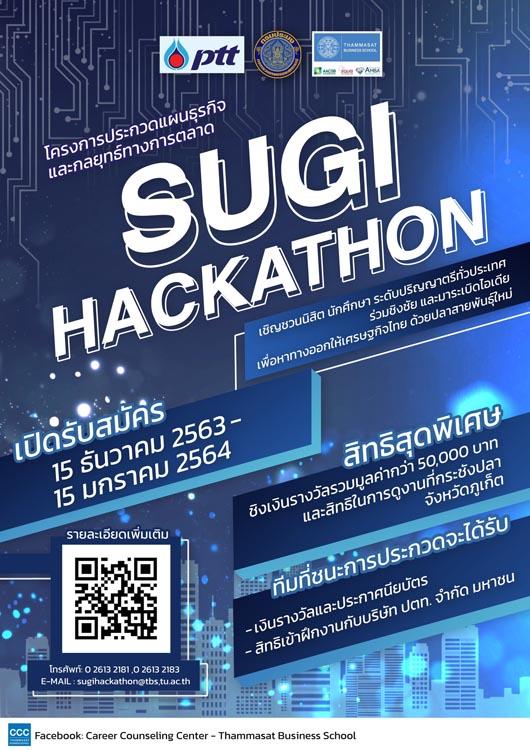 โครงการ Sugi Business Case Challenge สำหรับโครงการปลาช่อนทะเลต้นแบบ (Sugi Model)