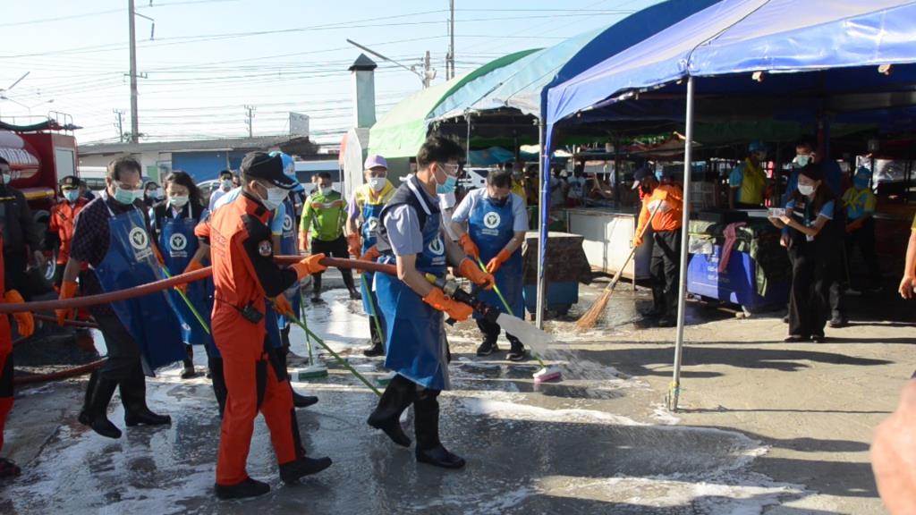 ยอดผู้ติดเชื้อไวรัสโควิดลพบุรีนิ่ง  ผู้ว่าฯ เผยวันนี้ไม่มีผู้ติดเชื้อเพิ่ม