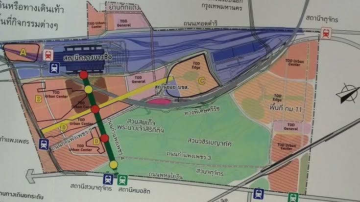 """""""ศักดิ์สยาม""""ติงแผนพัฒนาพื้นที่ย่านพหลโยธิน-จ่อรื้อผังเชิงพาณิชย์ 9 แปลงหวั่นไม่คุ้ม"""