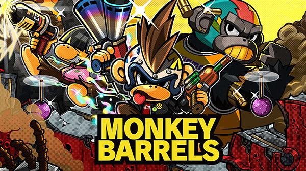 """""""Monkey Barrels"""" ชูตติ้งลิงโลด ถล่มพีซี 6 ก.พ."""