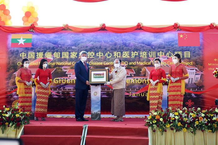 จีนช่วยพม่าต่อสู้กับโรคระบาด สร้างศูนย์ควบคุม-วิจัยที่เนปิดอว์