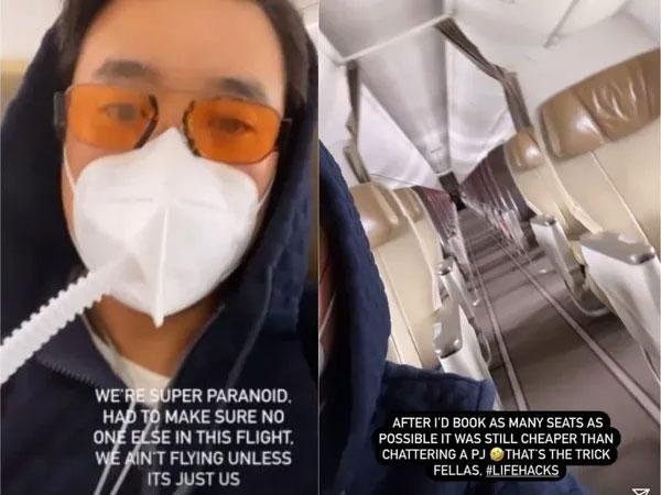 คนมันรวย!ไฮโซอินโดฯถ่ายรูปอวด เหมาเครื่องบินโดยสารยกลำกลัวติดโควิด-19