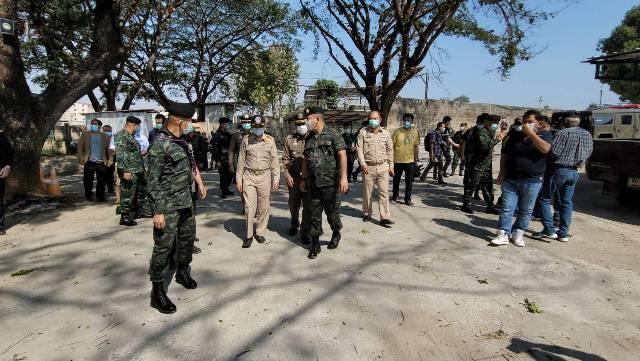"""""""ตาก""""จ่อตั้ง รพ.สนาม พบคนไทยในบ่อนเมียวดีมีกว่า 1,400 คน หนีโควิดแจ้งขอกลับอีก 200 ราย"""
