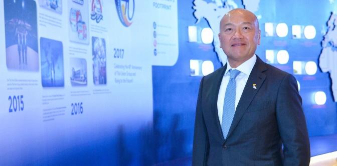 ภาพ - ธีรพงศ์ จันศิริ ประธานเจ้าหน้าที่บริหาร บริษัท ไทยยูเนี่ยน กรุ๊ป จำกัด (มหาชน)