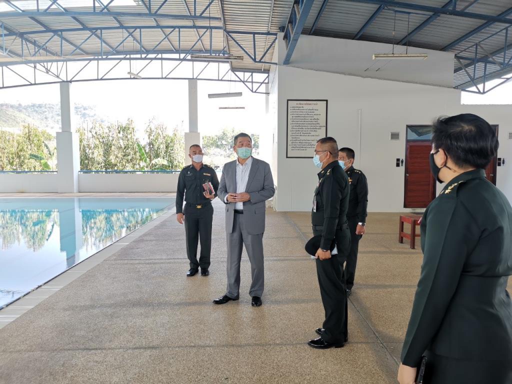 """""""บิ๊กป้อม"""" ส่งทีมหารือสโมสร วางแนวทางพัฒนาว่ายน้ำไทย"""