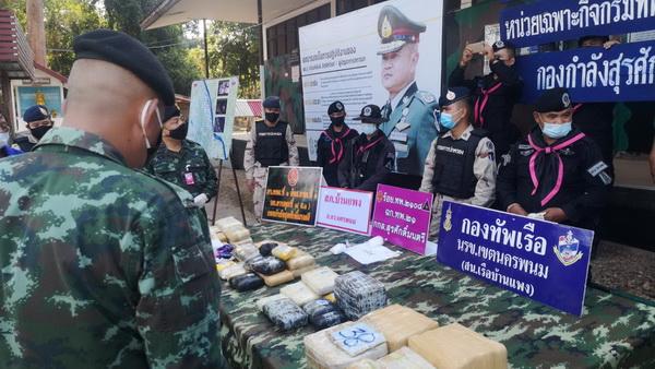 ทหารพราน 2108 ปะทะเดือดแก๊งค้ายาเสพติด ยึดยาบ้าล็อตใหญ่กว่า 264,000 เม็ดพร้อมไอซ์