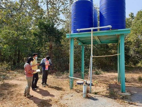 อธิบดีกรมฯ บาดาลเร่งเจาะบาดาลนำน้ำให้ชาว อ.ห้วยกระเจา จ.กาญจน์ ใช้อุปโภค-บริโภค ในแล้งนี้