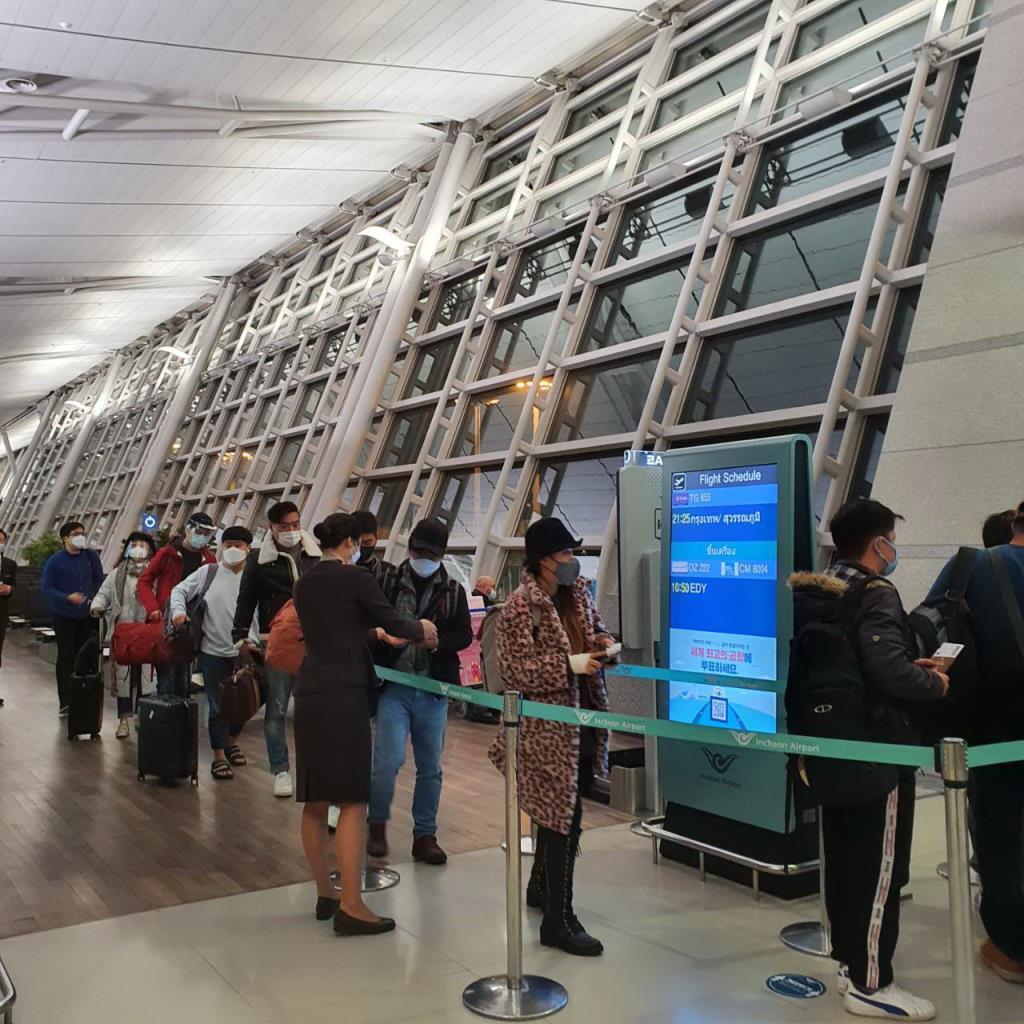 THAIรับคนไทยจากเกาหลี,อินเดีย,ฟิลิปปินส์,ญี่ปุ่น กลับบ้าน