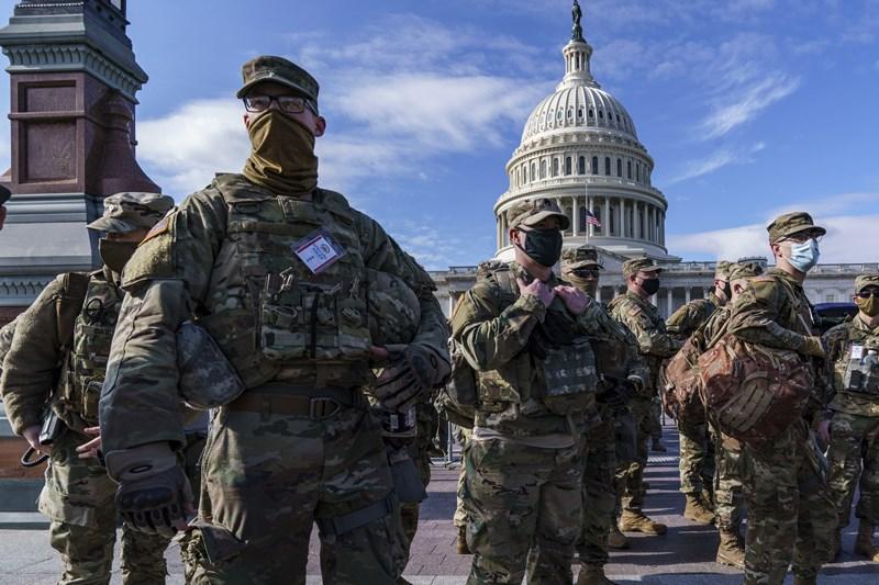 'กองทัพUS'รับ มีการสกรีนเนชั่นแนลการ์ดนับหมื่นที่'วอชิงตัน' ป้องกันป่วน'พิธีสาบานตนไบเดน'