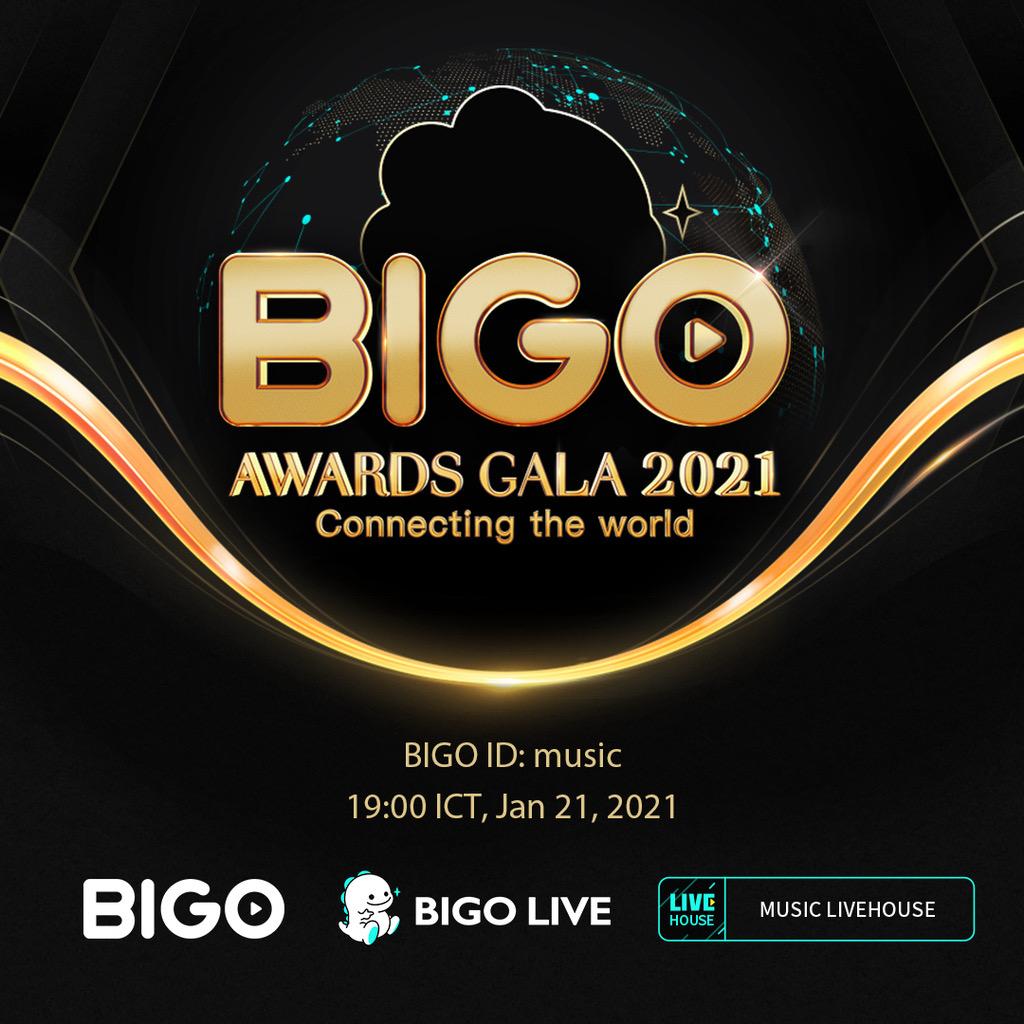 รวมพลบรอดแคสเตอร์ จุดพลุงานไลฟ์สตรีมมิ่ง BIGO Awards Gala 2021