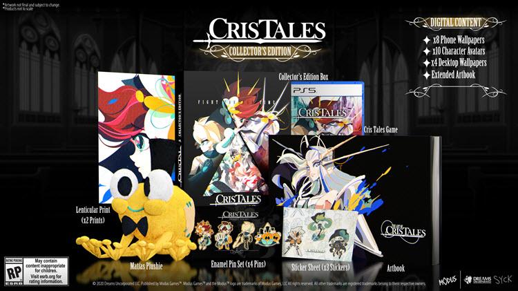 """""""Cris Tales"""" เปิดตัวชุดสะสม พร้อมให้สั่งจองแล้วทุกแพลตฟอร์ม"""