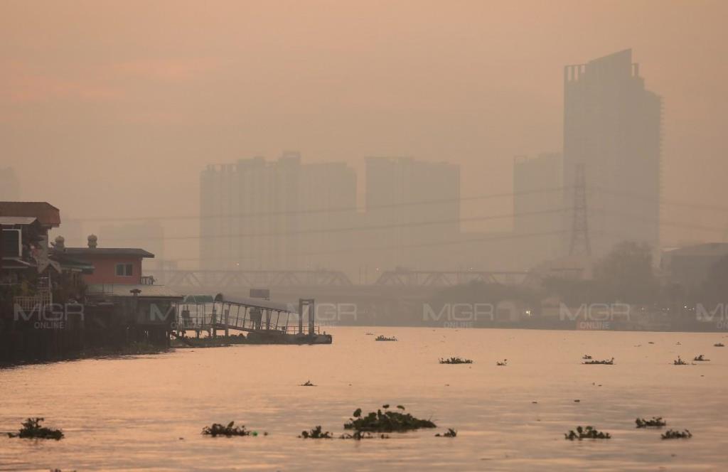 กทม. ฝุ่นพิษ PM 2.5 เกินค่ามาตรฐาน 69 พื้นที่ เริ่มมีผลกระทบต่อสุขภาพ แนวโน้มเพิ่มขึ้น
