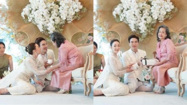 """""""ตู่ ปิยวดี"""" เผยข้อข้องใจ ที่ยกน้ำชาให้ """"แม่กุ๊บกิ๊บ"""" ในวันแต่งงานเพราะเป็นผู้มีพระคุณ"""