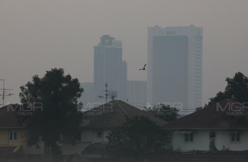 กทม.อ่วมฝุึ่นจ๋ว PM 2.5 ฟุ้ง ค่าเฉลี่ย 24 ชั่วโมง เกินค่ามาตรฐาน 38 พื้นที่