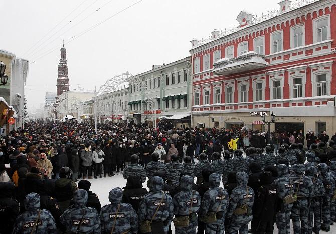 รัสเซียโวยสหรัฐฯแทรกแซงกิจการภายใน หลังเกิดประท้วงใหญ่ฝ่ายหนุนคู่ปรับปูติน