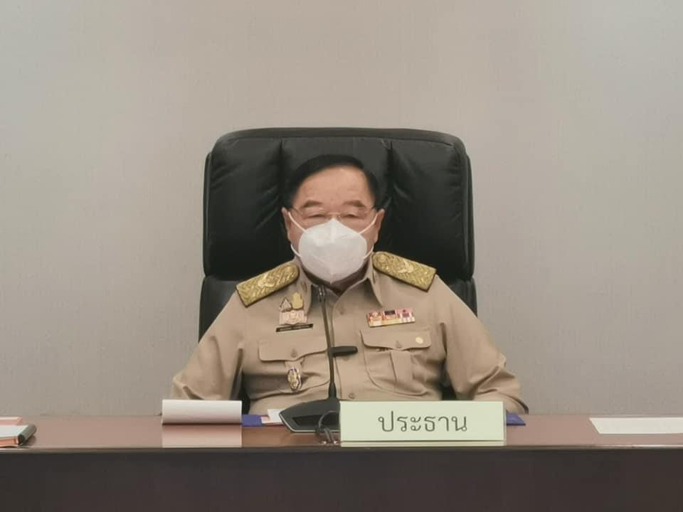 """""""บิ๊กป้อม"""" นั่งหัวโต๊ะ ประชุม คกก.สิ่งแวดล้อม  ย้ำแก้ปัญหา PM 2.5  รณรงค์ปชช.เฝ้าระวัง-แจ้งเตือน"""