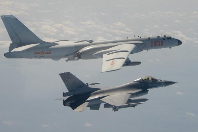 สหรัฐ เตือนจีนหยุดกดดันไต้หวัน หลังส่งฝูงบินล่วงล้ำน่านฟ้า
