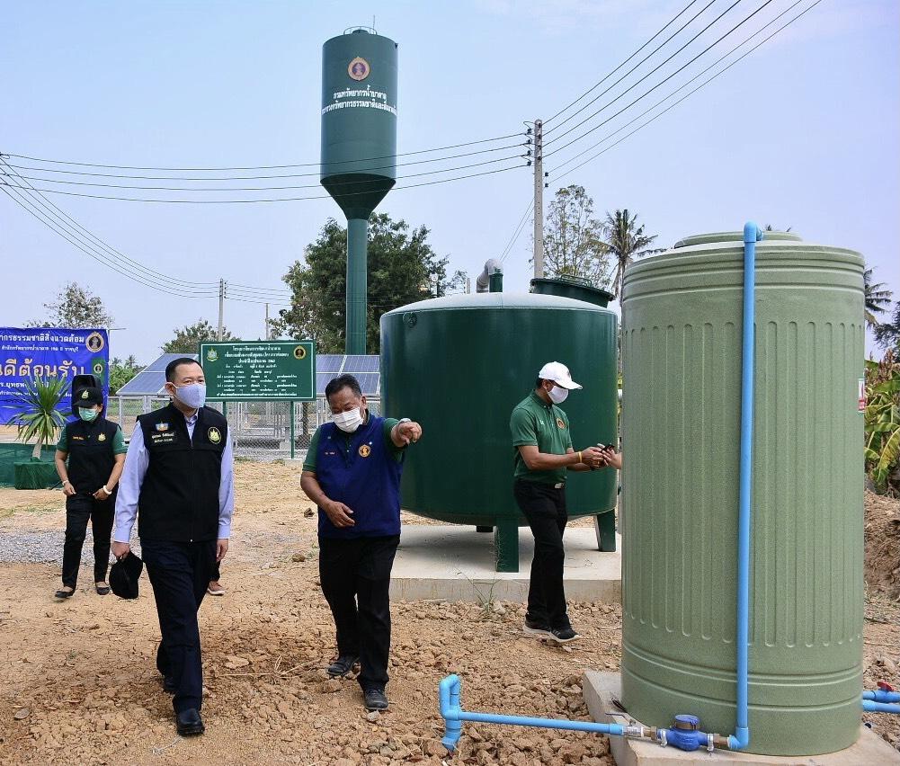 """ทปษ.รมว.ทส. """"ยุทธพล"""" เปิดโครงการน้ำบาดาลสู้ภัยแล้ง แก้ไขความเดือดร้อนชาวเพชรบุรี"""