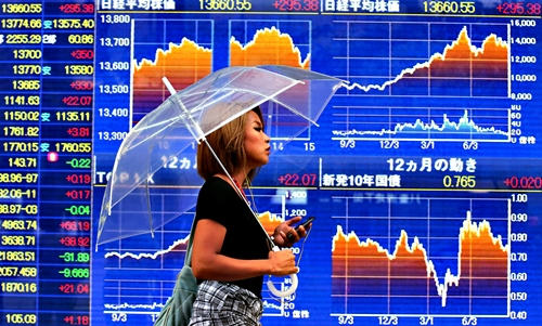 ตลาดหุ้นเอเชียปรับลบ ตามทิศทางดาวโจนส์-นักลงทุนผิดหวังผลประชุมเฟด