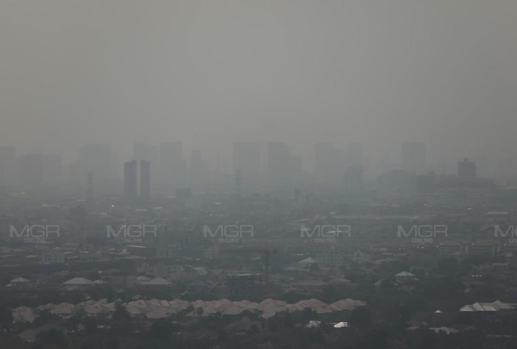 กทม.ฝุ่น PM 2.5 ฟุ้งเกินมาตรฐาน 51 พื้นที่ เริ่มมีผลกระทบต่อสุขภาพ