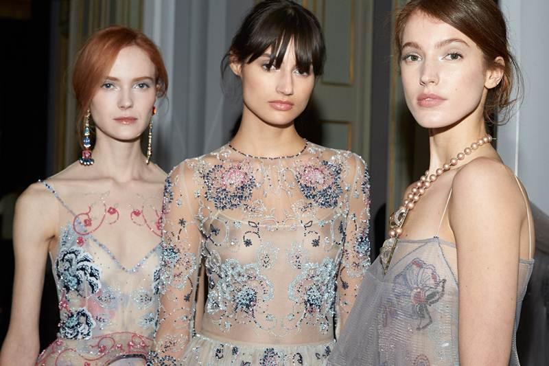 บิวตี้ลุคจากโชว์ล่าสุดของ Giorgio Armani Privé's Haute Couture