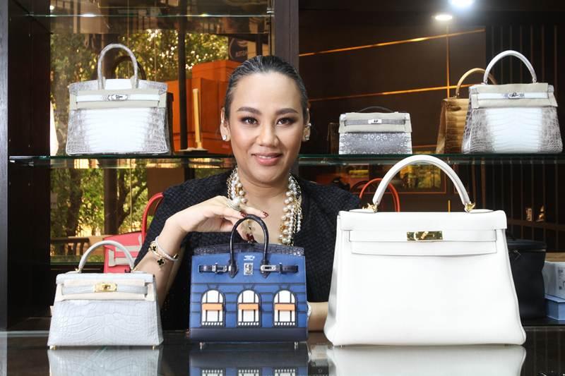 """""""มาดามพัด"""" เจ้าแม่แอร์เมสมือสอง รายใหญ่ที่สุดของไทย"""