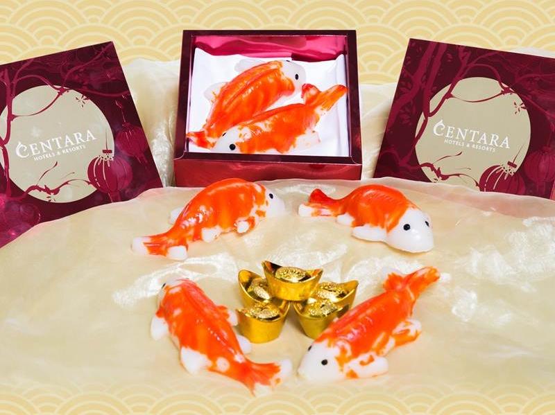 """""""เหนียนเกา"""" เค้กปีใหม่ขนมเข่งรูปปลามงคล เสริมสิริมงคลในเทศกาลตรุษจีน"""