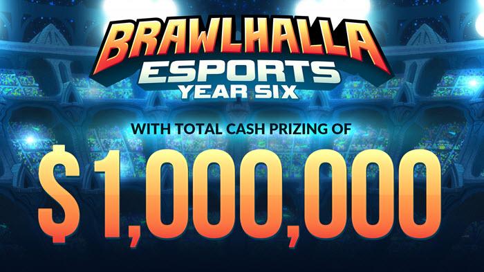 """""""Brawlhalla"""" ระเบิดศึกอีสปอร์ตตลอดปี 2021 ชิงรางวัลกว่าล้านเหรียญ!"""