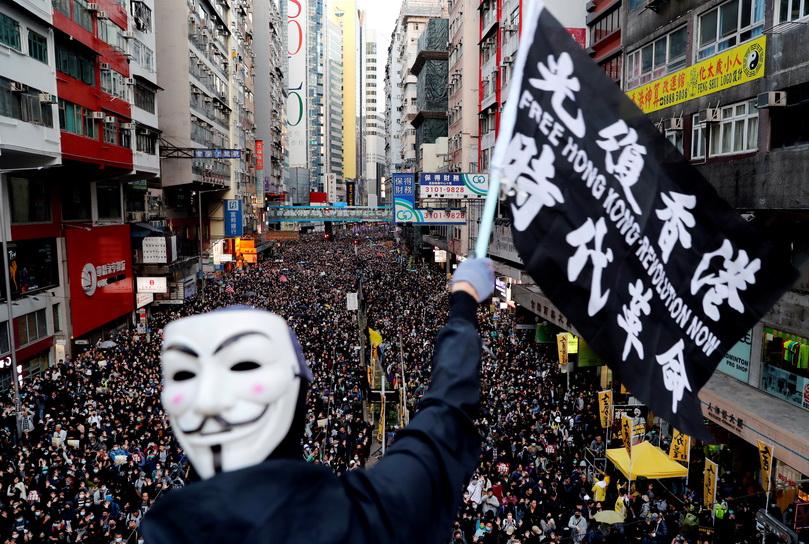ตามสูตร!กลุ่มสมาชิกรัฐสภาสหรัฐฯเสนอชื่อ'ผู้ประท้วงฮ่องกง'ชิงโนเบลสาขาสันติภาพ