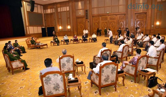 16 สภาแห่งชาติกุมอำนาจเบ็ดเสร็จ เปิดรายชื่อ 20 รัฐมนตรีใหม่พม่า