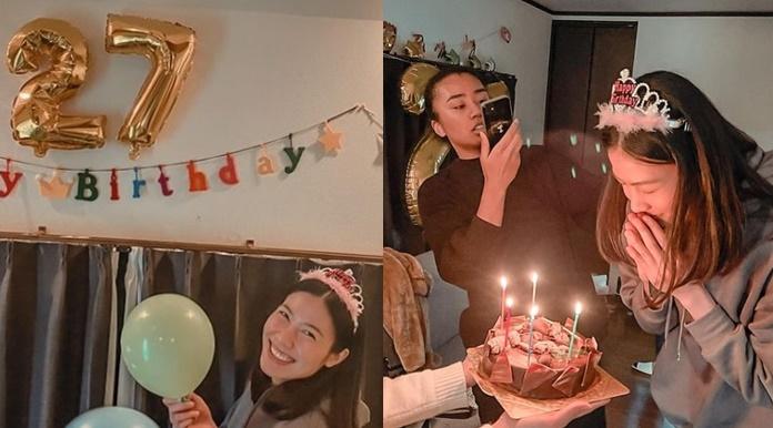 """""""ทัดดาว"""" ต้องไม่เหงา! เพื่อนร่วมทีมลูกยางญี่ปุ่นยินดีวันเกิด"""